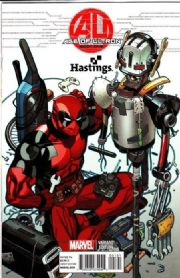 Age Of Ultron #1 Deadpool Hastings Variant (2013) Marvel comic book
